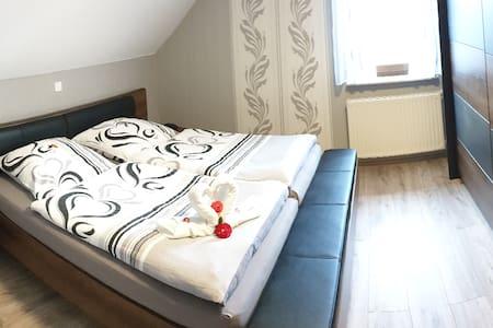 Ferienwohnung Frischkorn, (Hintersteinau), Ferienwohnung Frischkorn, 60qm, 2 Schlafzimmer, max. 3 Personen