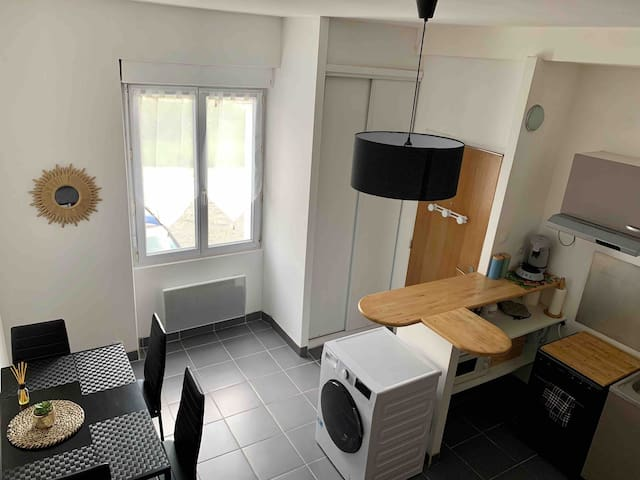 Bougklyn studio  (5min aéroport/15min Nantes)