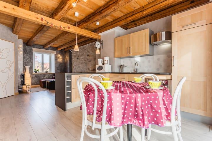 Charme et modernité en Alsace ! - Muhlbach-sur-Bruche - Appartement