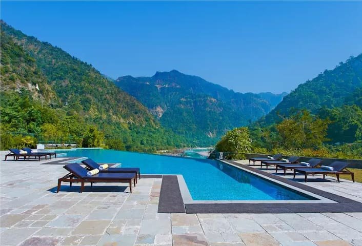 2BD+ LR : Pure Ganges, Pool & Himalayas View