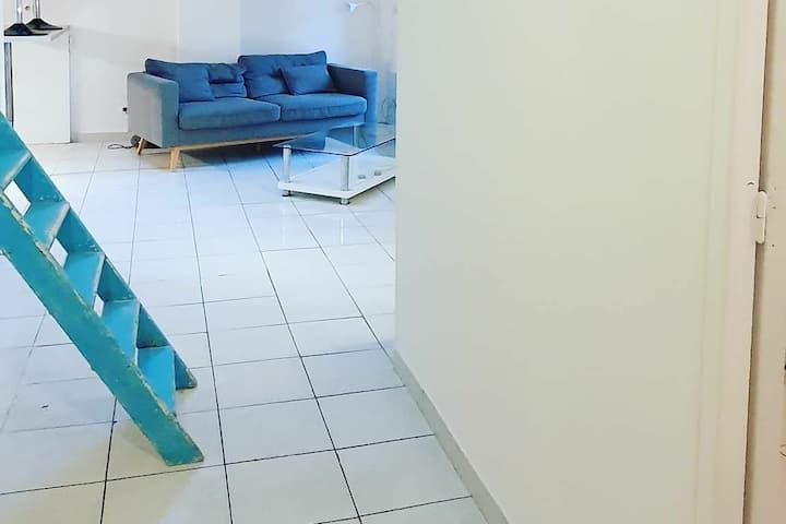 Charmant T3 50m2 +mezzanine