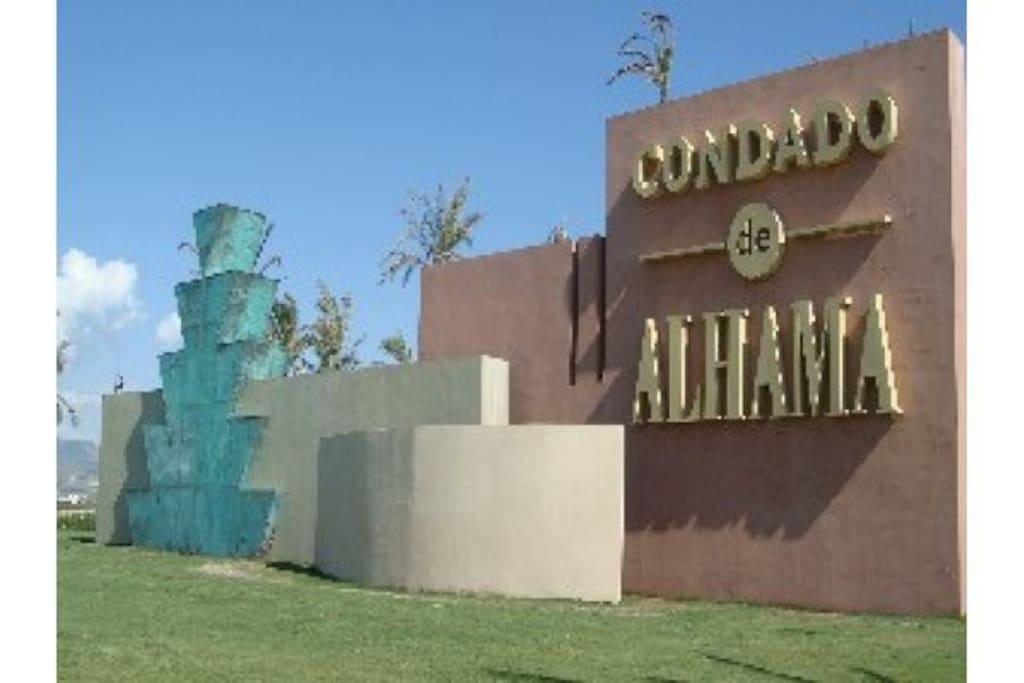 Resort Front Gate