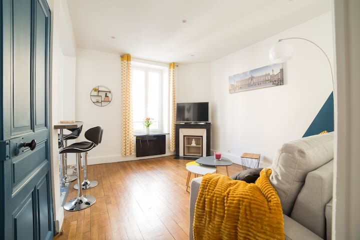 Charmant Appartement Nancy-Parc Ste Marie- Thermal