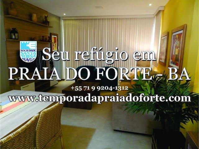 Praia do Forte - Bahia - Mata de São João - Appartement