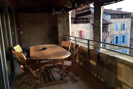Chambre dans centre historique - Figeac - Daire