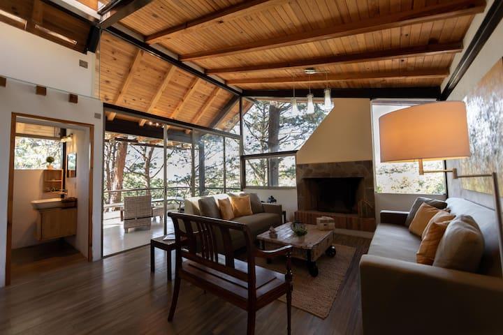 Luxury Chalet/Cabin in the Woods @Valle de Bravo 1