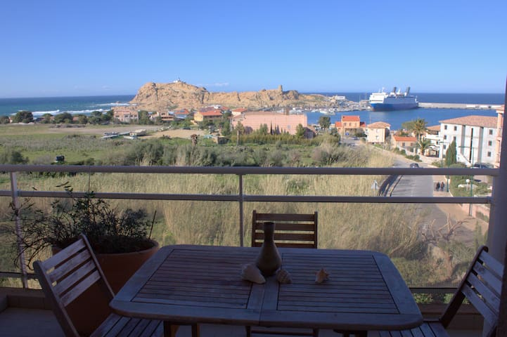 5 rooms Flat With 3 bedrooms and 3 terracees - L'Île-Rousse - Condominium