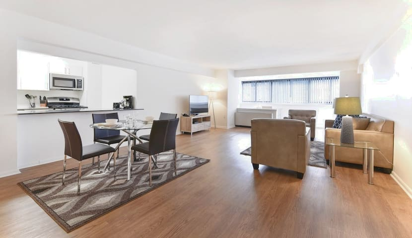 Spacious 2BR | West End/MGH | Full Kitchen | GLS