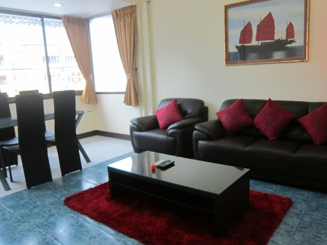 Lux appartment with 2 bedrooms in centre of Patong