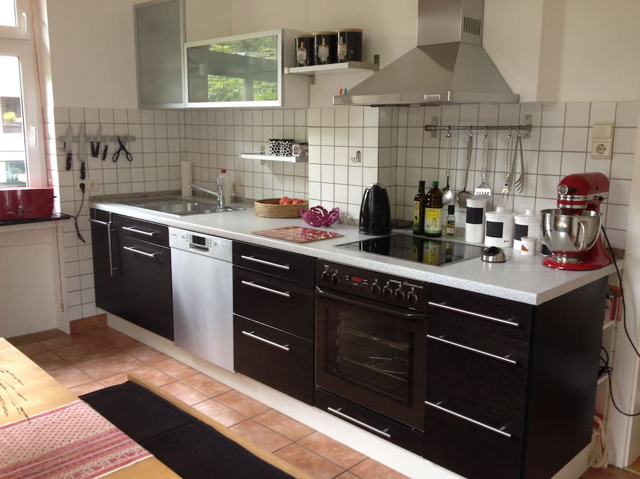 Küche inkl. Spülmaschine