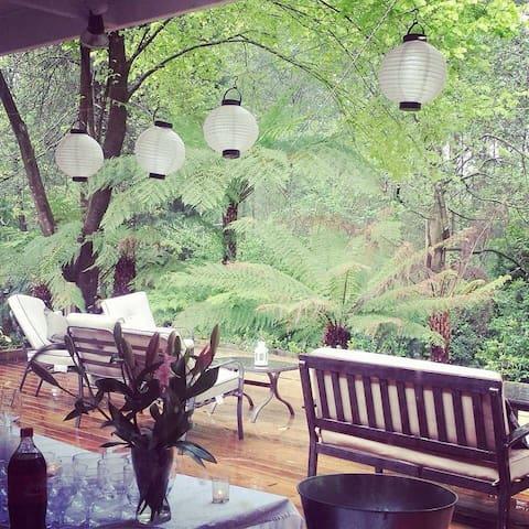 The Fernery Lodge & Cottage - sleeps 10
