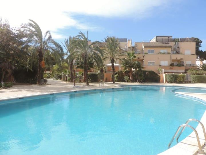 Trendy Flat in Playa d'Bossa