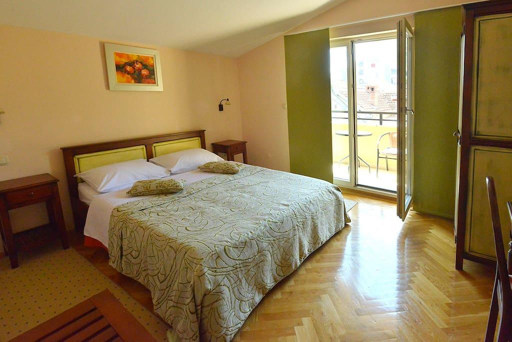 Double Room with Balcony.