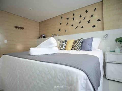 Flat Hope no Granja Brasil Resort - Itaipava
