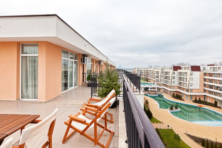 Lovely studio for vacation - Sunny beach - Apartemen