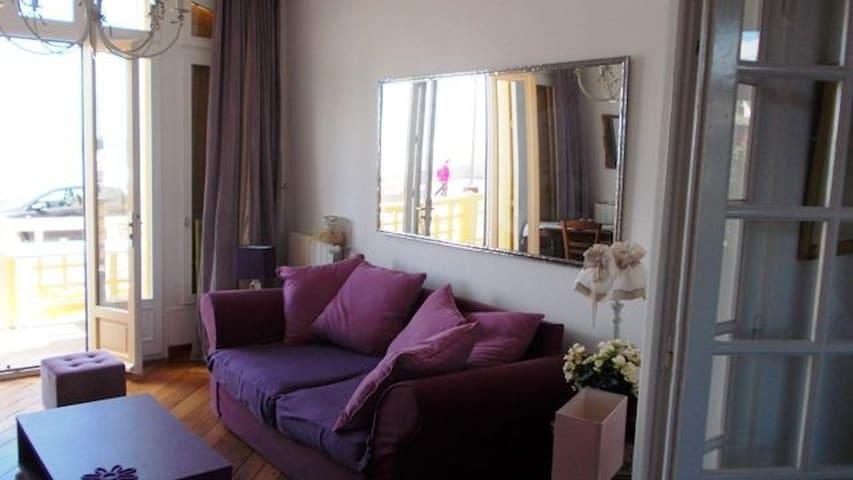Bel Appartement, front de mer - RDC - Mers-les-Bains - Departamento