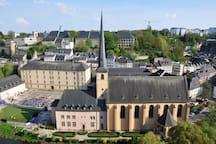 Eglise Saint-Jean-du-Grund au Luxembourg