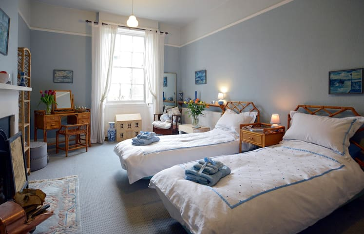 The Blue Guest Room, (Twin) Bedford