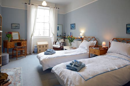 The Blue Guest Room, (Twin) Bedford - Bedford