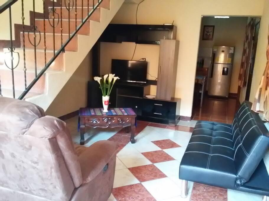 En toda la casa hay señal de WiFi