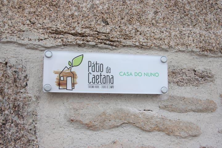 Pátio da Caetana-Casa do Nuno- máx. 4 pessoas