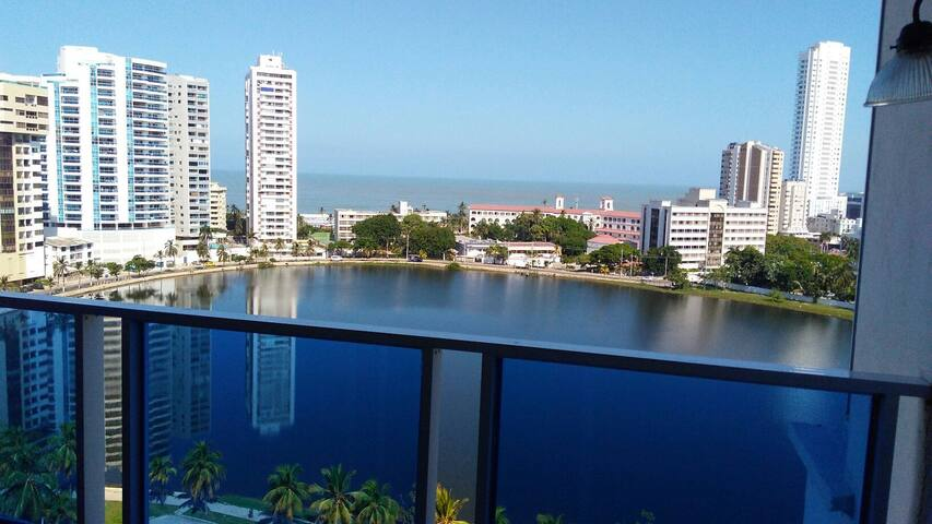 Apartaestudio 1104 con vista al mar - Cartagena - Appartamento