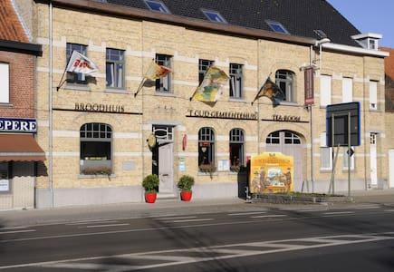 Triple kamer 't Oud Gemeentehuis - Langemark-Poelkapelle