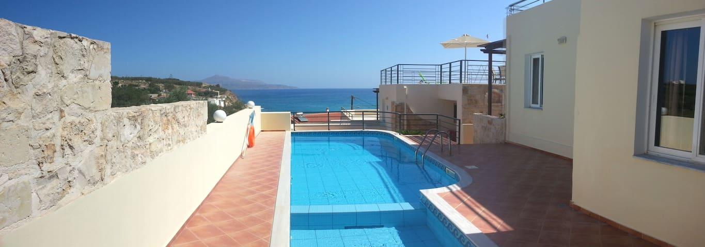 65m2 terasse apartment - Sea view - Almyrida - Apartment