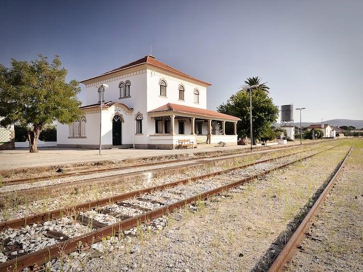 Room at Marvão Old Train Station