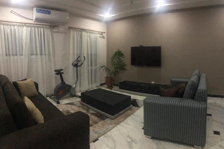 Appartement tout neuf avec vue verdoyante