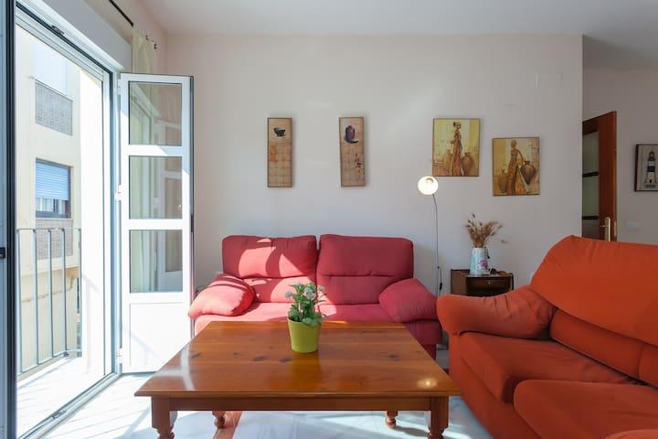 San Fernando, new, central, beach, WIFI, 1c - San Fernando - Lägenhet