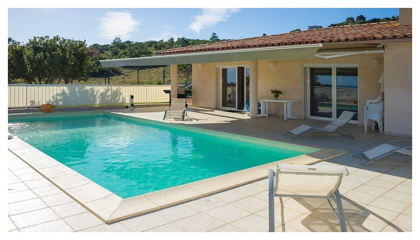 Corse  Villa luxueuse 6P piscine - Sari-Solenzara - Ev