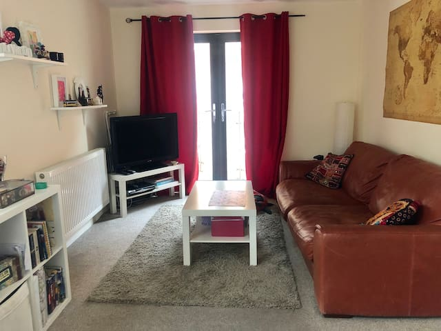 Double room in cozy apartment in city centre