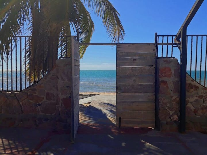 Beachfront Apartment in Kino Bay, Mexico