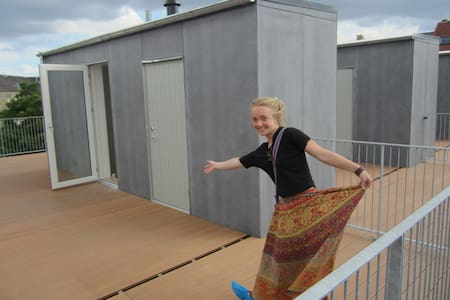 Cozy flat w/ private roof terrasse!