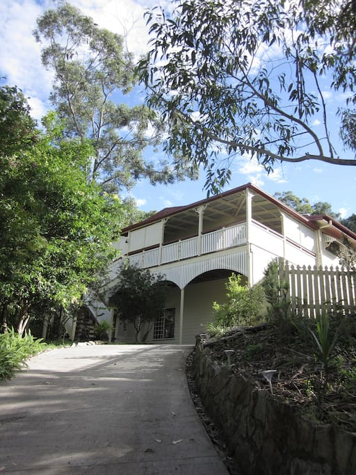 Relaxing and tranquil location and so close to the Eumundi Markets