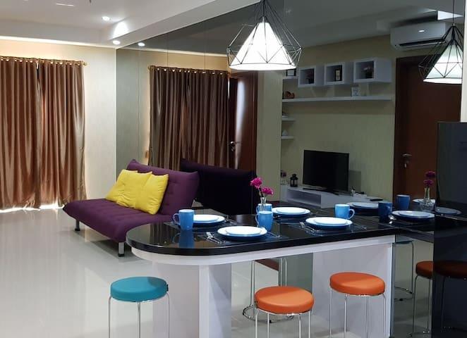 2BR 2BTH Modern & Luxury Seaview Condominium