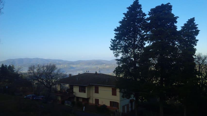 Vista stupenda sulla Toscana - Reggello - Διαμέρισμα