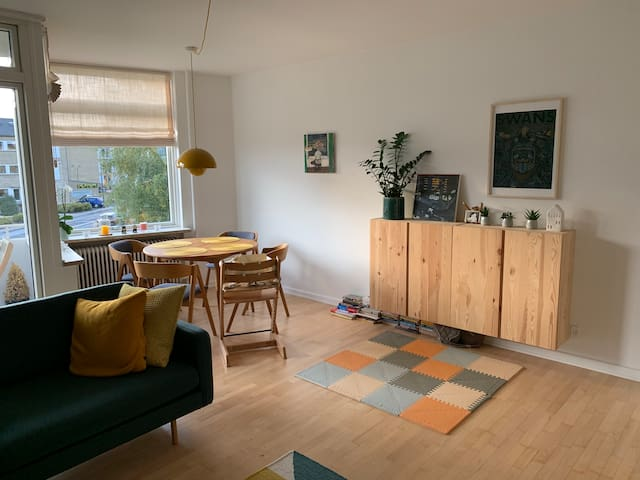 Trendy 3-room apartment in Gentofte (Greater CPH)