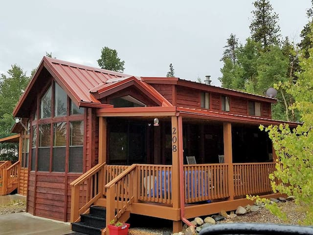 Adorable, Cozy Cabin w/ beautiful views - Fairplay - Cabane