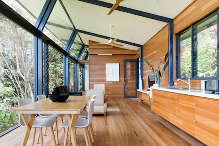 Chill Out Naturally In Treetops Hideway Overlooking Byron