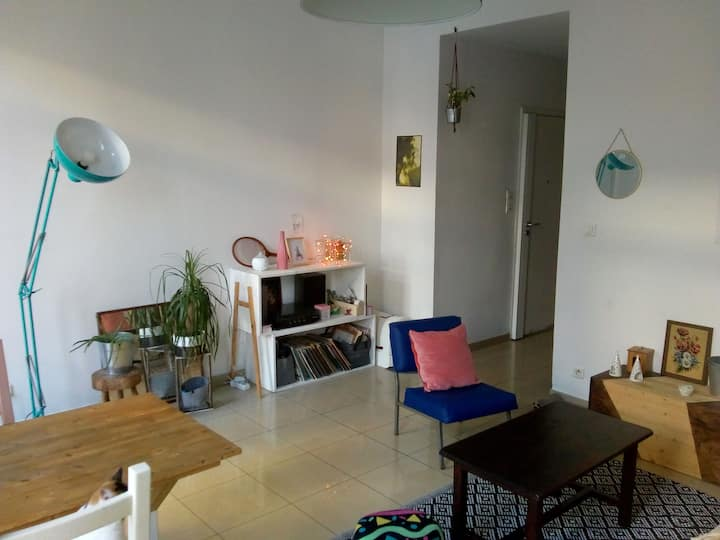 Chambre dans appartement à Estrangin