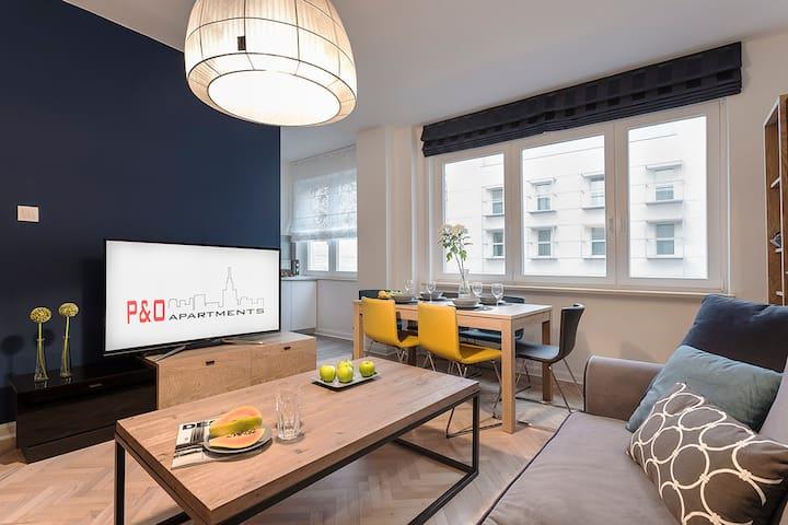 2 bedroom apt. luxury NOWOGRODZKA - Warszawa - Pis