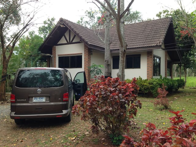 Khao Yai House - Up to 9 ppl - Mu Si - Casa
