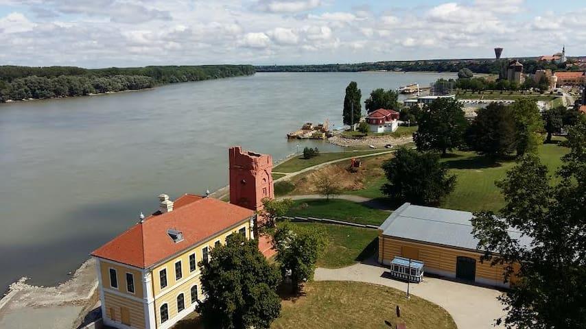 Dunav + Vukovar= proljeće - Vukovar