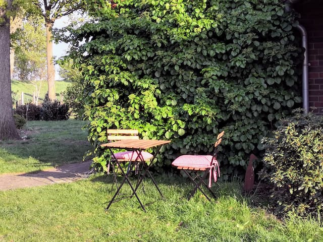 ein Plätzchen im Garten
