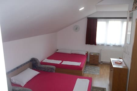 Apartm. 4 person Samobor, near Zagreb.Bicycle room