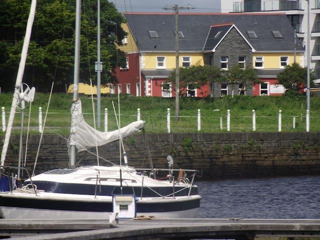 Wild Dolphin Lodge, Apt 1  views of Kilrush Marina
