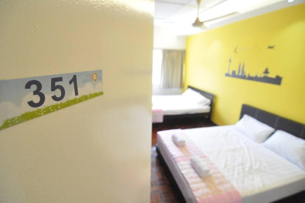 Room number 351