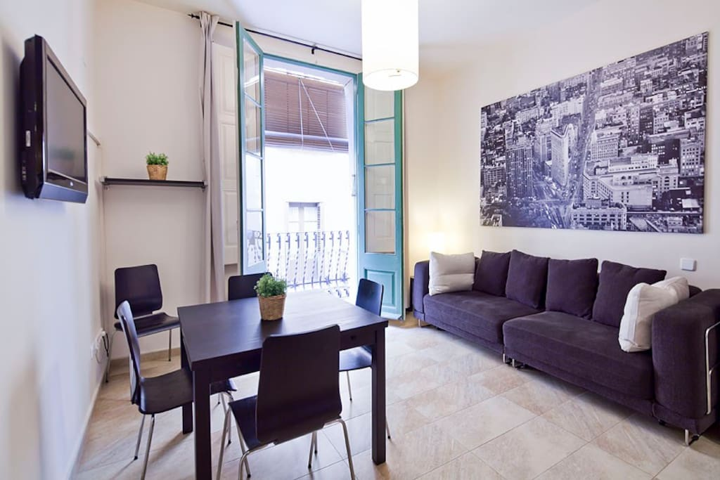 For 5 in the heart of gracia appartamenti in affitto a for Quartiere gracia barcellona